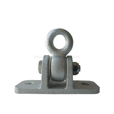 Densen customized Sand Casting Hinge hook for Surface zinc plating ,customized ductile iron sand casting ring,Swing rings