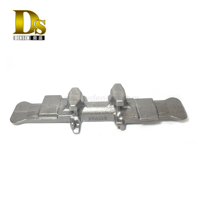 Densen Customized Ductile iron sand blasting core iron track pad for crawler track