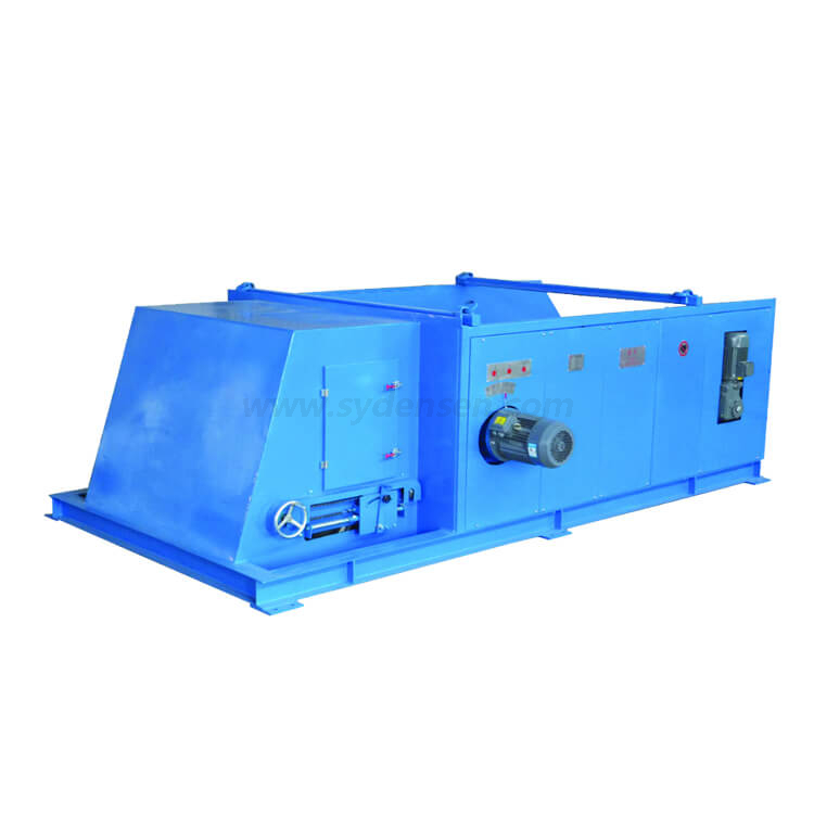 Highly Effective Eddy Current Separator for Pet Bottle Flakes and Glass Scraps Containing non-ferrous metal