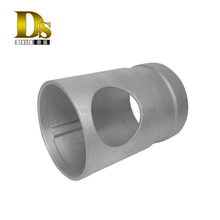 Densen Customized stainless steel 304/316 Silica sol investment casting and machining joint,precision casting pipe joint