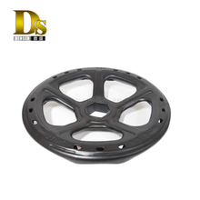 Densen Customized steel stamping and welding and painting handwheel for agricultural machine,stamping part orstamping components