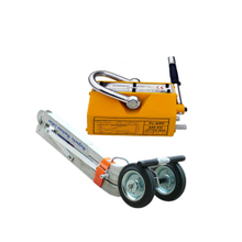 Densen Customized Mobile Portable Permanent Magnetic Lifter With Wheel For Manhole Cover Lifters Equipments