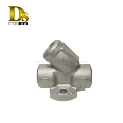 Densen Customized stainless steel 304 Silica sol investment casting y type valve