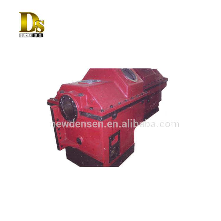 Alloy Steel ASTM A148 105-85 Resin Sand Casting Gearbox Housing for Top Drive