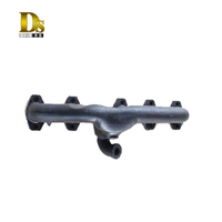 High-quality Ductile Iron Clay Sand Castings Exhaust Manifold for Agricultural Machinery