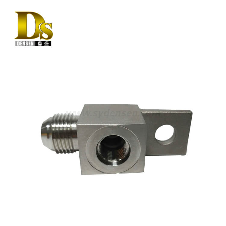 Densen Customized stainless steel 304 Silica sol investment casting and machining joint for valve,small part investment casting