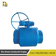 Water gas oil use low-pressure welded ball valve