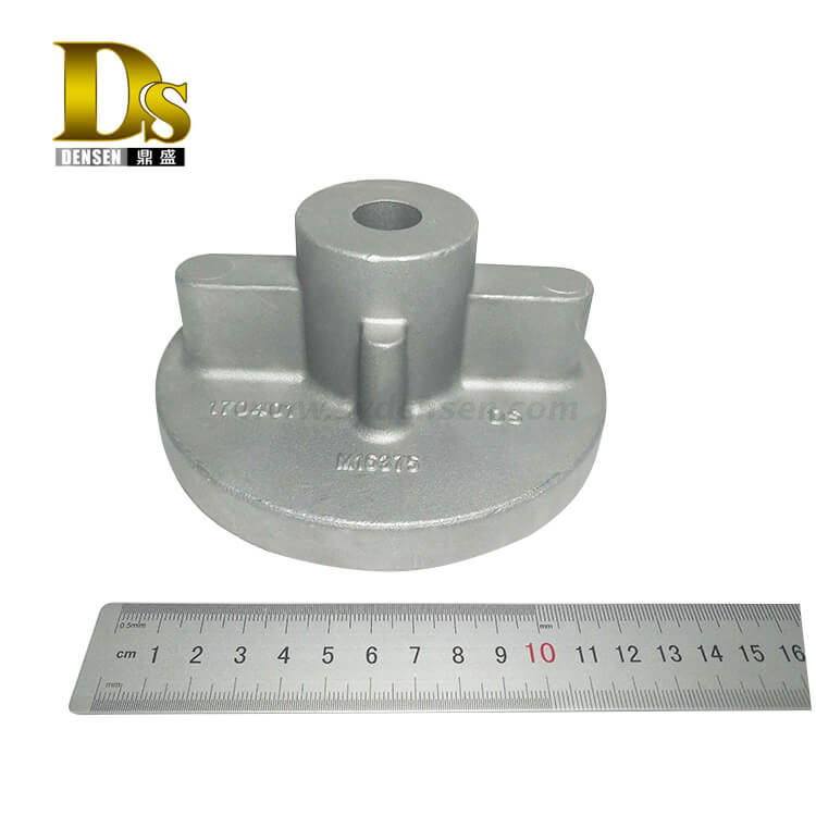 Densen Customized Aluminum alloy ADC12 Gravity casting and machining hydraulic cylinder steam trap valve cover