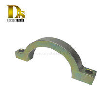 Densen customized steel heavy duty pipe clamps with Color zinc plating,stainless steel pipe clamp or pipe coupling clamp