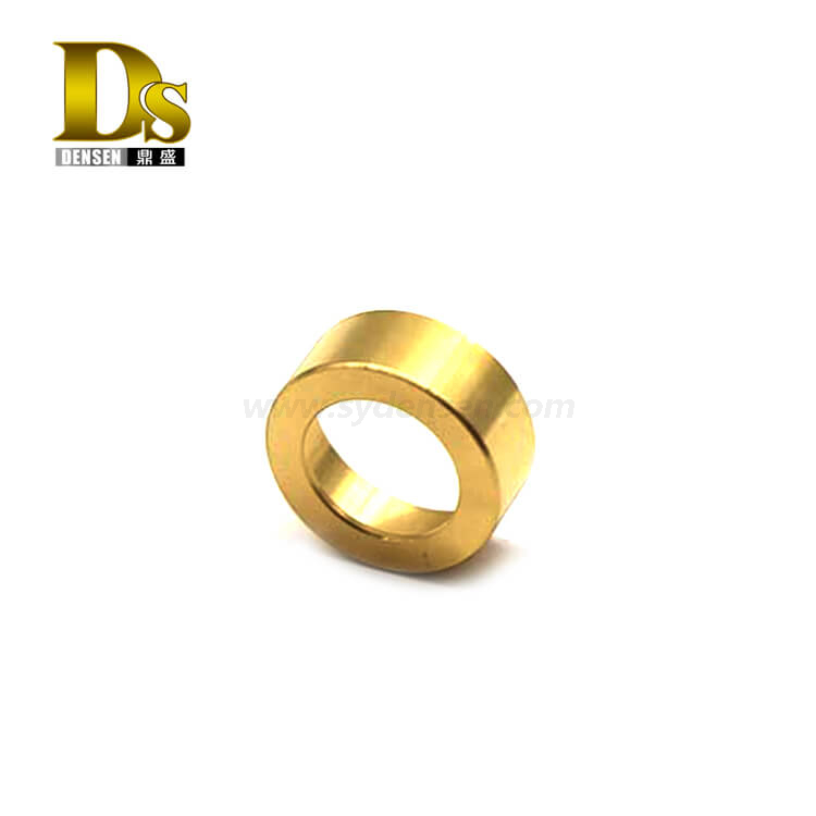 Densen Customized copper high pressure die casting machinery components for railway trains