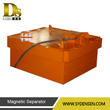 Self-Cooling Square Plate Electromagnetic Iron Separator