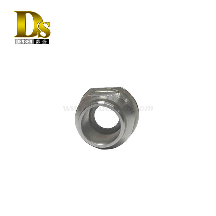 Densen Customized stain steel machining Threaded joint or union joint; steel pipe connector or pipe connector fitting
