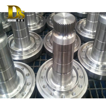 Densen customized Super large stainless steel forging transmission shaft,transmission drive shaft,transmission main shaft