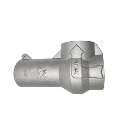 Densen Customized steel SA351 Silica sol investment casting control valve body,cheap investment casting parts
