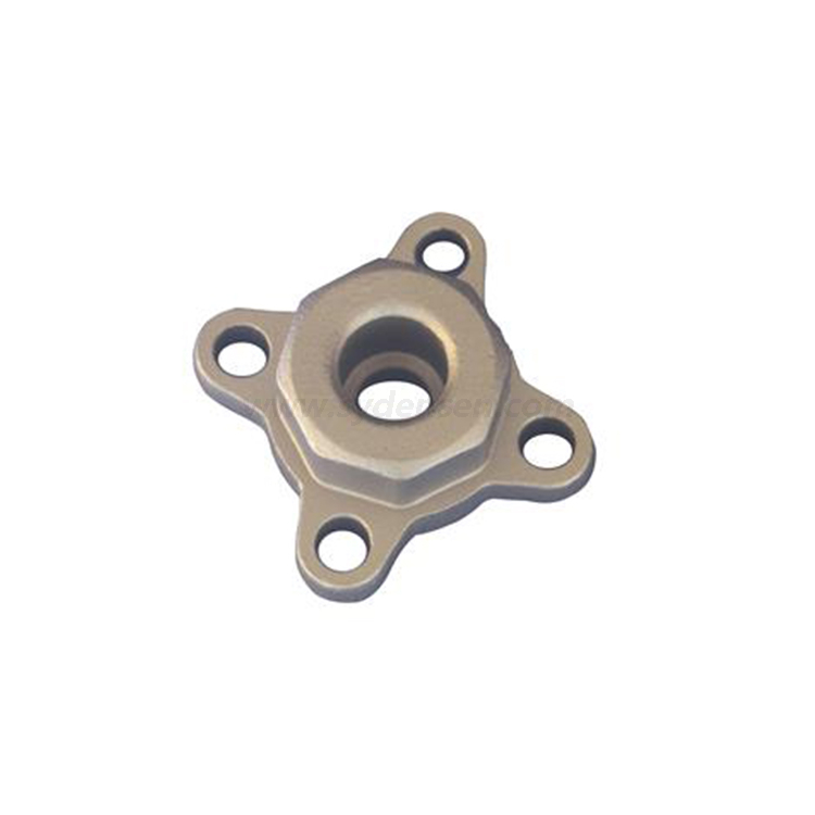 Densen customized cnc machining parts copper casting valve parts gate valve cover parts with carbon steel casting