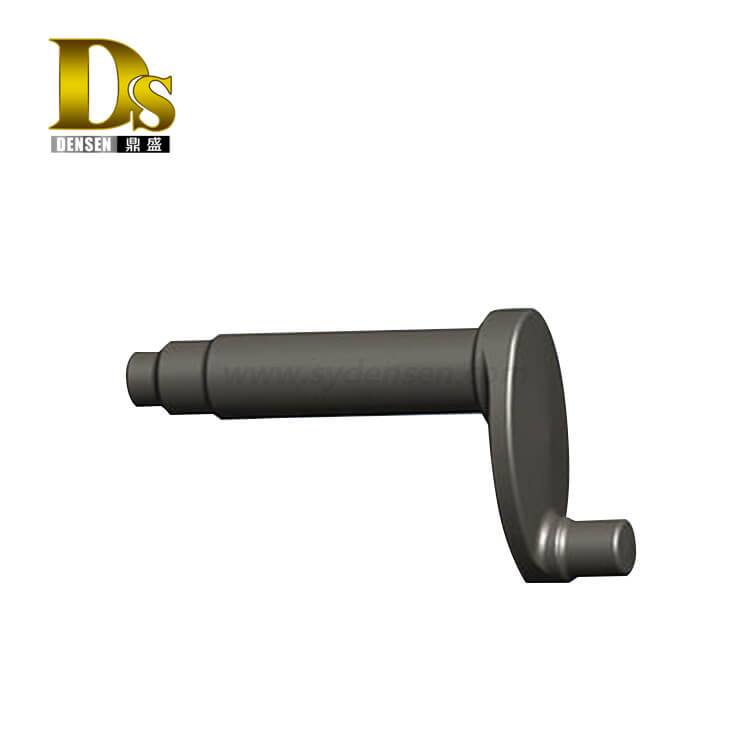 Densen Customized Forged Guide Wheel Spindle Crank for Mechanical Transmission