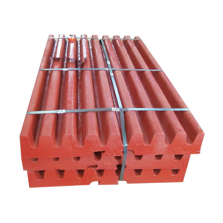 Densen Customized Jaw Crusher Spare Wear Parts Jaw plate, tooth plate Can Be Used for Mining equipment