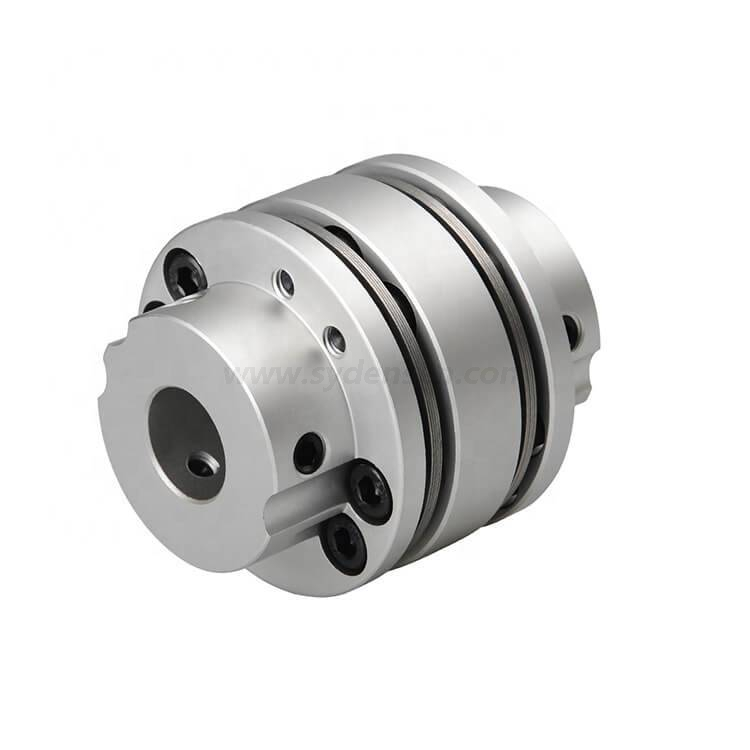 Densen customized double disc clamp high torque coupling shaft motor coupling