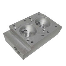 Densen Customized size cast iron valve body valve body conductor plate
